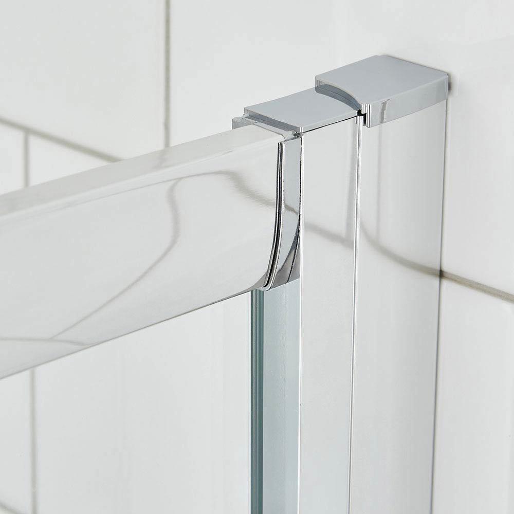 Ella Quadrant Shower Enclosure - 900 x 900mm - ERQ9 - Enclosure Only  Feature Large Image