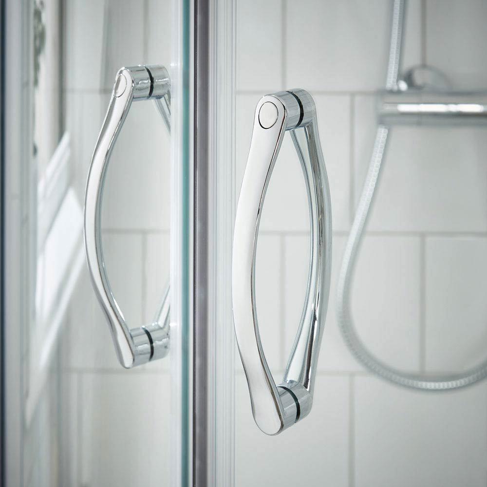 Ella Quadrant Shower Enclosure - 900 x 900mm - ERQ9 - Enclosure Only  In Bathroom Large Image