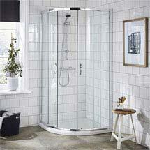 Ella Quadrant Shower Enclosure - 900 x 900mm - ERQ9 - Enclosure Only Medium Image