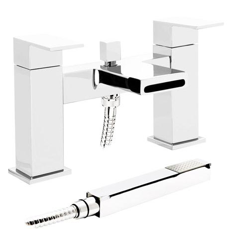 Empire Waterfall Bath Shower Mixer with Shower Kit