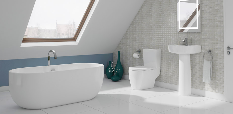 Example of an en-suite bathroom