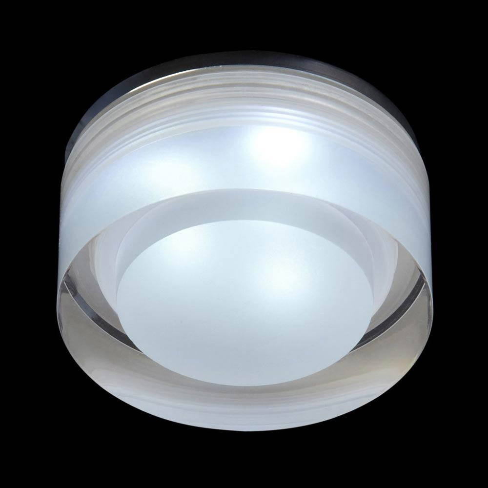 Endon Icen Modern Circular Clear LED Downlight - EL-IP-8000 Large Image