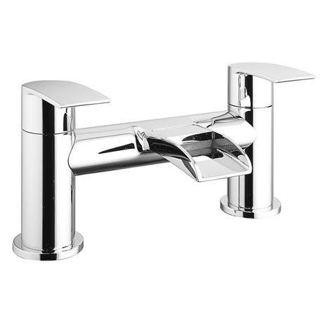 Enzo Waterfall Modern Bath Taps
