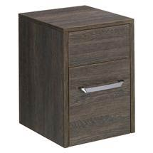 Bauhaus - Essence 30 Two Drawer Storage Unit - Ebony - ES3035DEB Medium Image