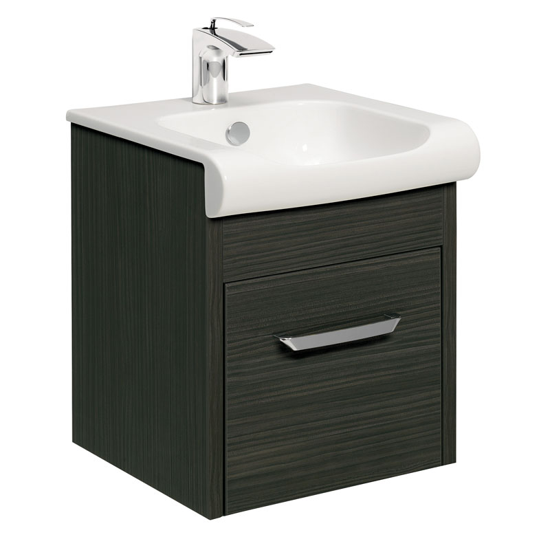 Bauhaus - Essence Unit & Basin - Anthracite - 3 size options Large Image
