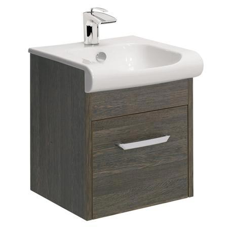Bauhaus - Essence Unit & Basin - Ebony - 3 size options