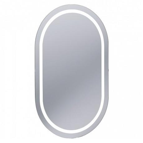 Bauhaus - Essence 50 LED Back Lit Mirror with Demister Pad - ME8050A