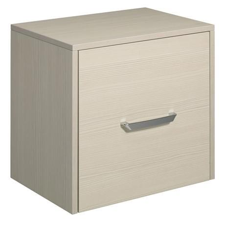 Bauhaus - Essence 50 Single Door Storage Unit - Glacier - ES5035FGL