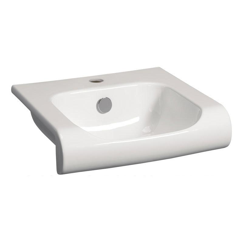 Bauhaus - Essence Unit & Basin - Walnut - 3 size options Profile Large Image