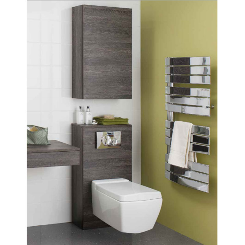 Bauhaus - Back to Wall WC Furniture Unit - Anthracite - SP5492AN profile large image view 2