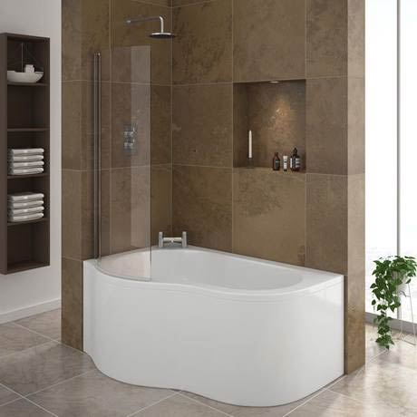 Estuary corner shower bath w screen panel victorian for Bathroom designs for small spaces south africa