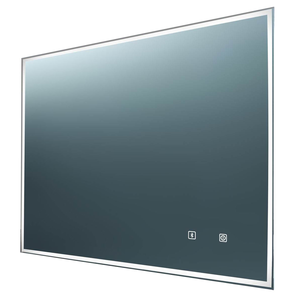 Euroshowers Bluetooth LED Rectangular Mirror with Demister