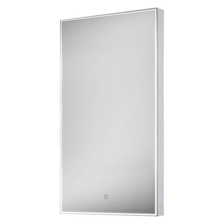 Euroshowers LED Rectangular Mirror with Demister - 400 x 800mm