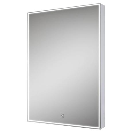 Euroshowers LED Rectangular Mirror with Demister - 500 x 700mm