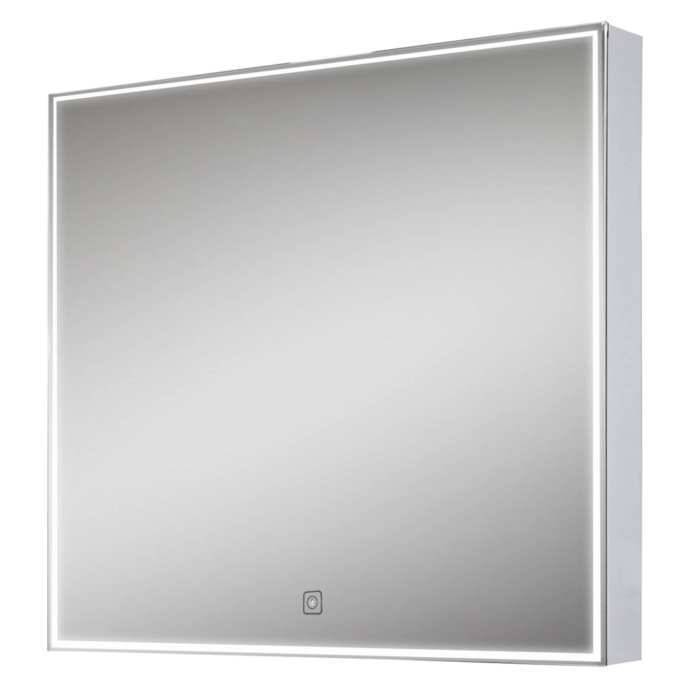 Euroshowers LED Square Mirror with Demister