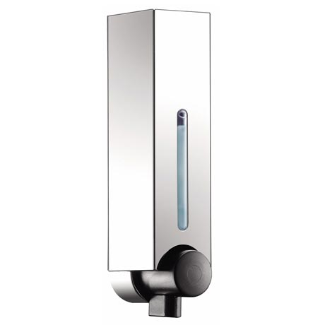 Euroshowers Mini Chic Single Soap Dispenser - Chrome