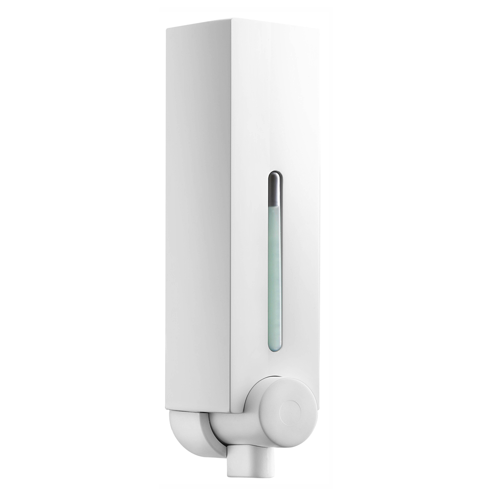 Euroshowers Mini Chic Single Soap Dispenser - White - 89740 Large Image