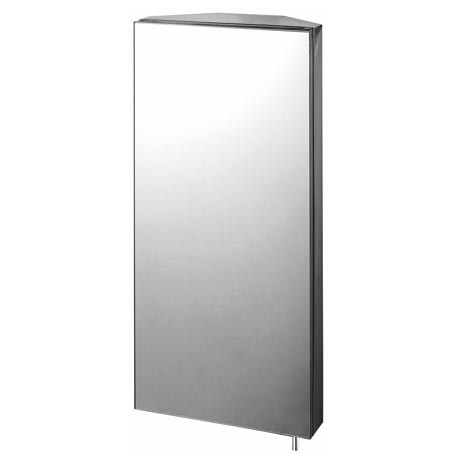mirrored bathroom corner cabinet euroshowers mirrored corner cabinet 15520 at 19511