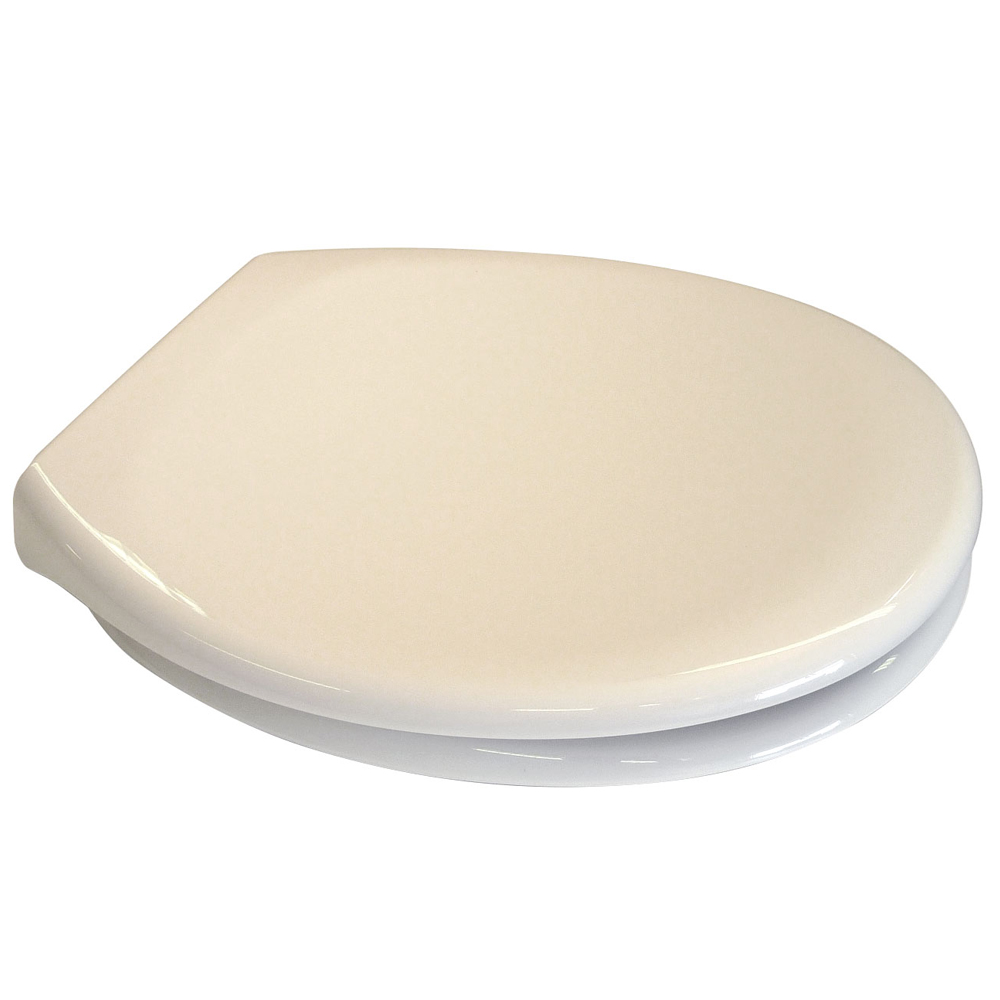 Euroshowers PP Opal Soft-Close Seat - Cream - 83001 profile large image view 2