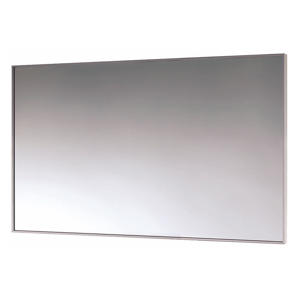 Euroshowers Rectangular Mirror with Minimalist Frame - 500 x 750mm Large Image