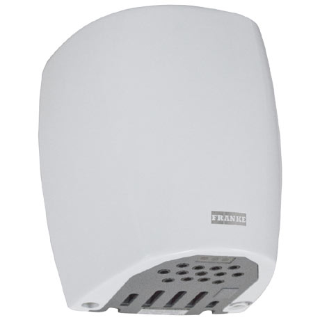 Franke F0440 Eco-Airblast Midi Plus Hand Dryer - White Steel