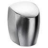 Franke F0441 Eco-Airblast Midi Plus Hand Dryer - Polished Chrome profile small image view 1