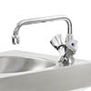 Franke F1000 Monobloc Mixer Tap for Janitorial Unit profile small image view 1