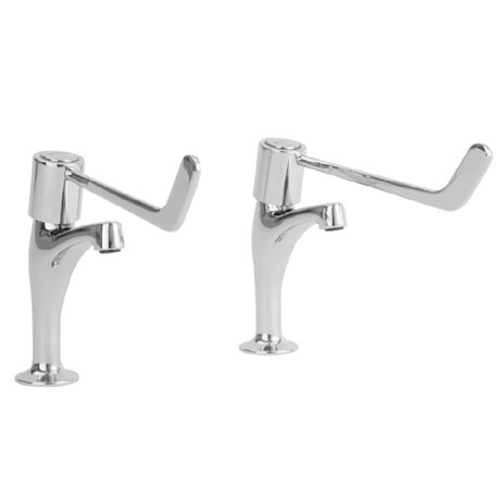 Franke F1074 Lever Operated Pillar Taps