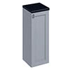 Burlington 30 Single Door Base Unit - Classic Grey profile small image view 1