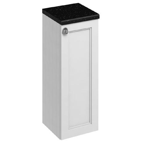 Burlington 30 Single Door Base Unit - Matt White