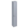 Burlington 30 2-Door Tall Unit - Classic Grey profile small image view 1