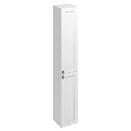 Burlington 30 2-Door Tall Unit - Matt White