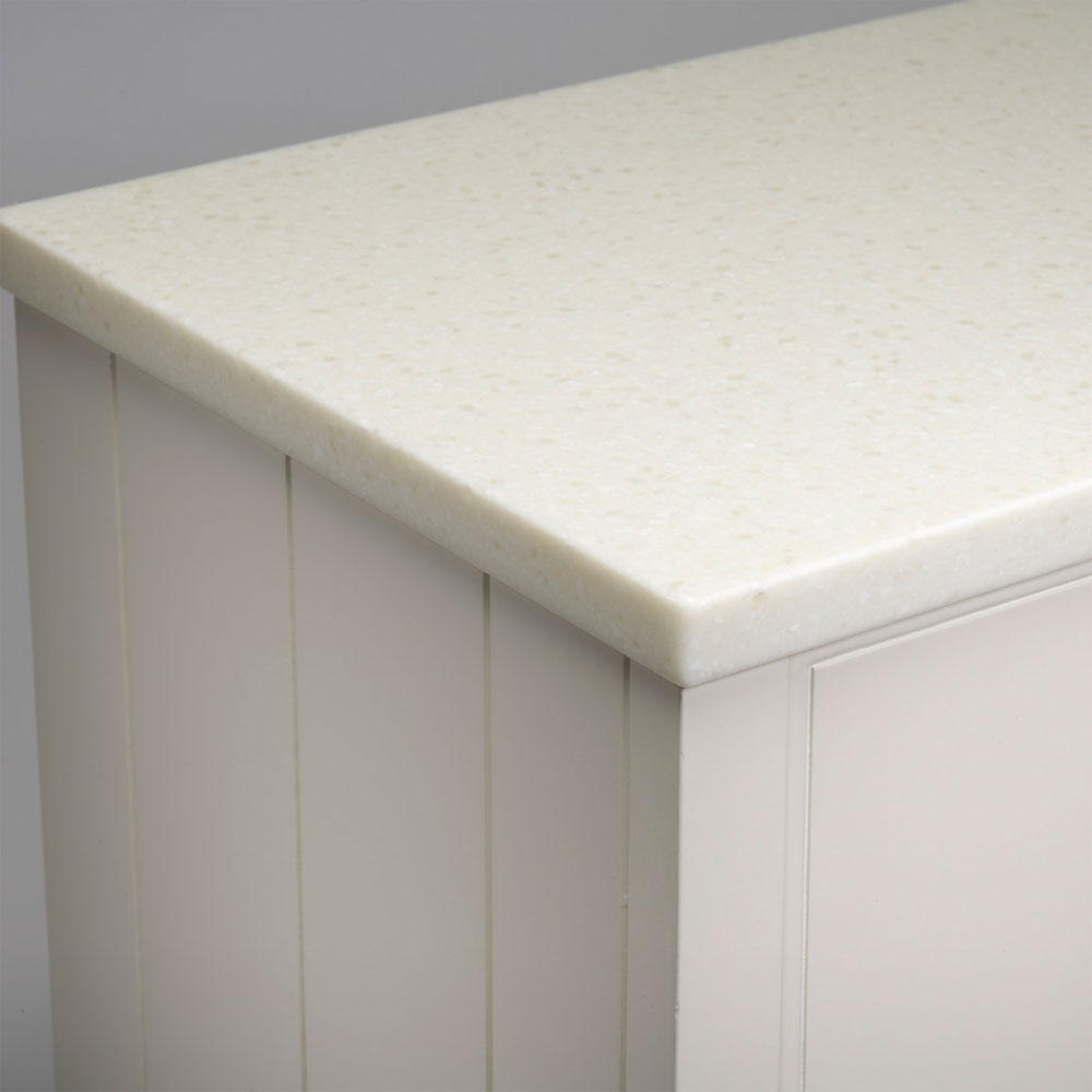 Roper Rhodes Strata 620mm Worktop - Glacier White Large Image