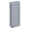 Burlington 30 Single Door Wall Unit - Classic Grey profile small image view 1