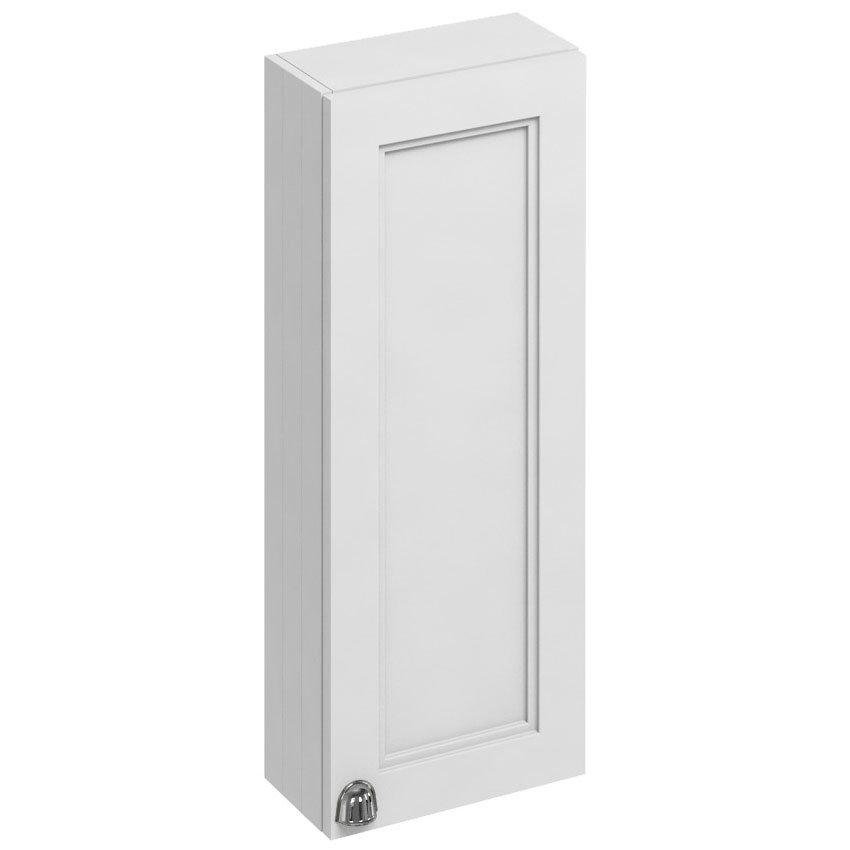 Burlington 30 Single Door Wall Unit - Matt White Large Image