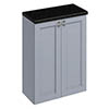 Burlington 60 2-Door Base Unit - Classic Grey profile small image view 1