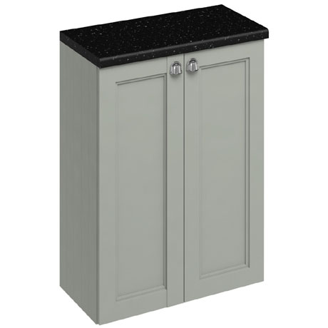 Burlington 60 2-Door Base Unit - Dark Olive