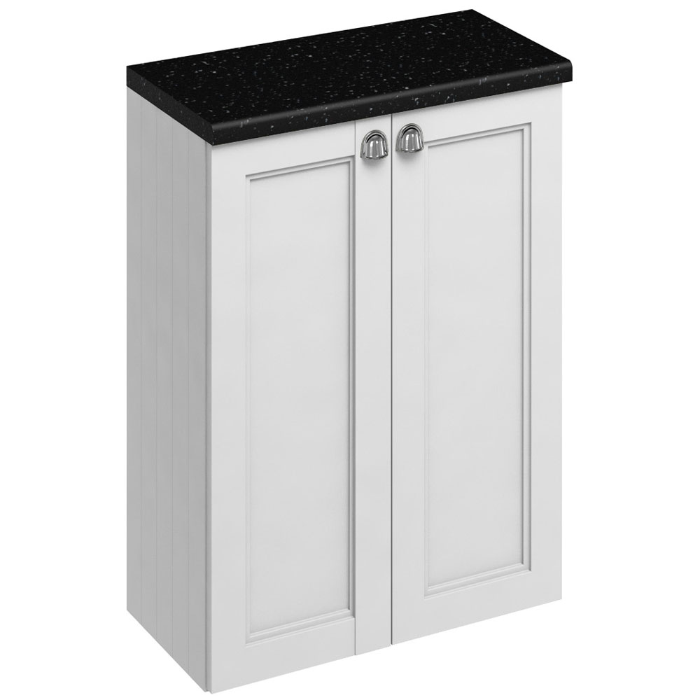Burlington 60 2-Door Base Unit - Matt White