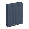 Burlington 60 2-Door Wall Unit - Blue profile small image view 1