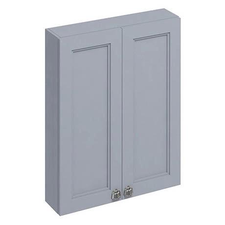 Burlington 60 2-Door Wall Unit - Classic Grey