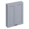 Burlington 60 2-Door Wall Unit - Classic Grey profile small image view 1