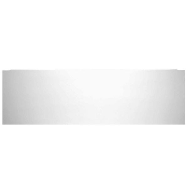 Tavistock Meridian MDF 1700 Plain Front Bath Panel - Gloss White - F782 Large Image
