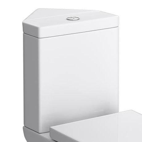 Venice Dual Flush Corner Cistern