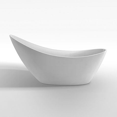 Nova 1750 Modern Free Standing Slipper Bath