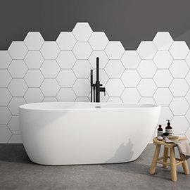 Turin 1600 x 800mm Modern Freestanding Bath