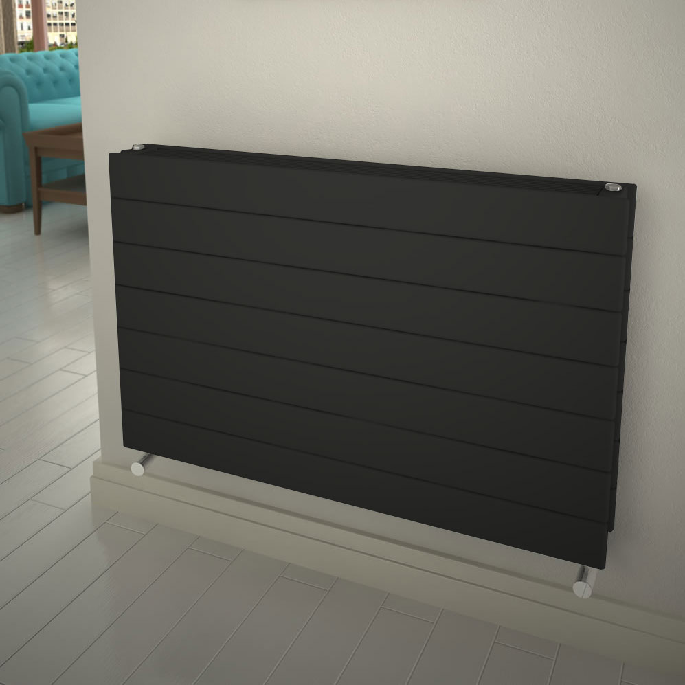 Reina Flatco Type 21 Steel Designer Radiator - Anthracite profile large image view 1