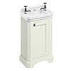 Burlington Freestanding Cloakroom Vanity Unit & Basin - Sand profile small image view 1