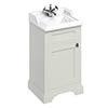 Burlington 50cm Freestanding Cloakroom Vanity Unit & Basin - Sand profile small image view 1