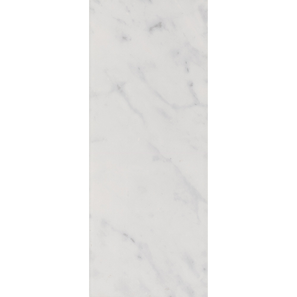 Florence Marbled White Wall Tile (Gloss - 200 x 500mm)  Feature Large Image