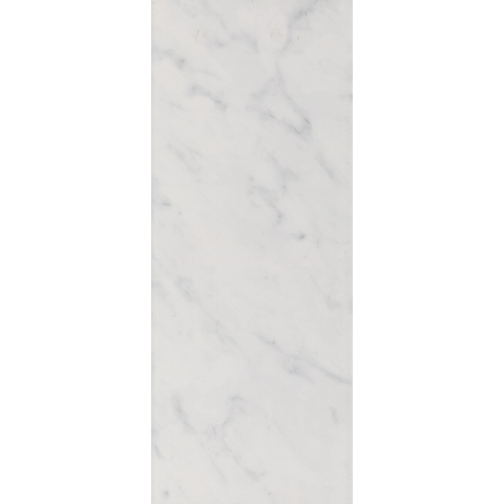 Florence Marbled White Wall Tile (Gloss - 200 x 500mm)  Standard Large Image